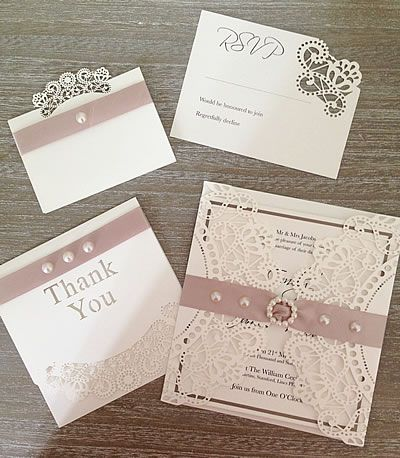 Ideas To Make Your Own Wedding Stationery And Invitations Diy
