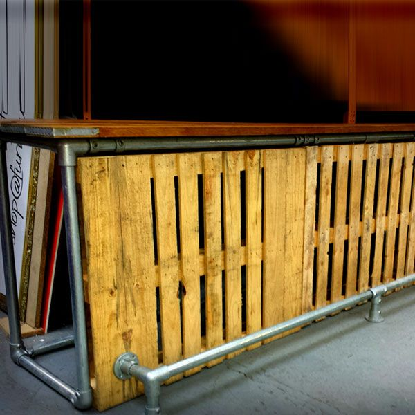 Man Cave Bar Out Of Pallets : Best images about bar on pinterest home bars diy