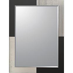 jasmine modern frameless bathroom mirror