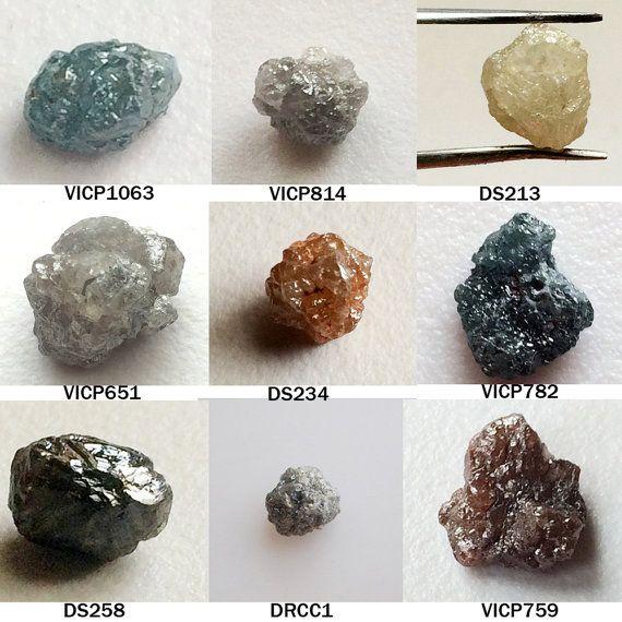 Rough Diamond Raw Diamonds Loose Diamonds Natural by gemsforjewels