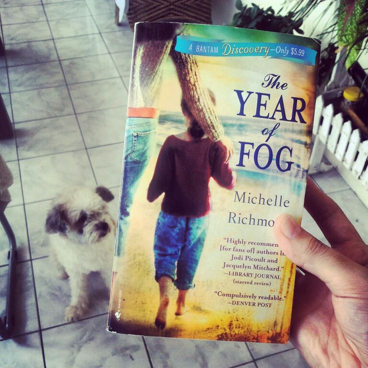 I'll finally be reading Michelle Richmond's The Year of Fog. Thanks Barnes and Noble!