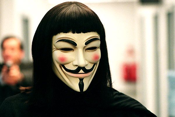 Credit: V for Vendetta (Hugo Weaving, but you wouldn't know, would you?)