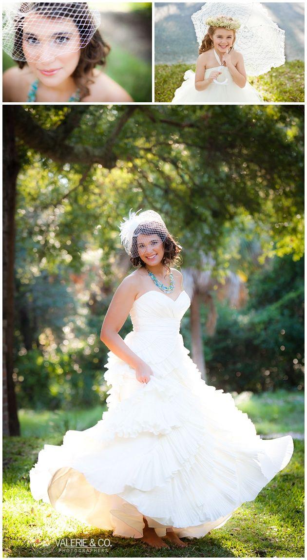 Vintage Wedding Photography - Gorgeous Bridal Photos - Charleston, SC, www.valerieandco.com