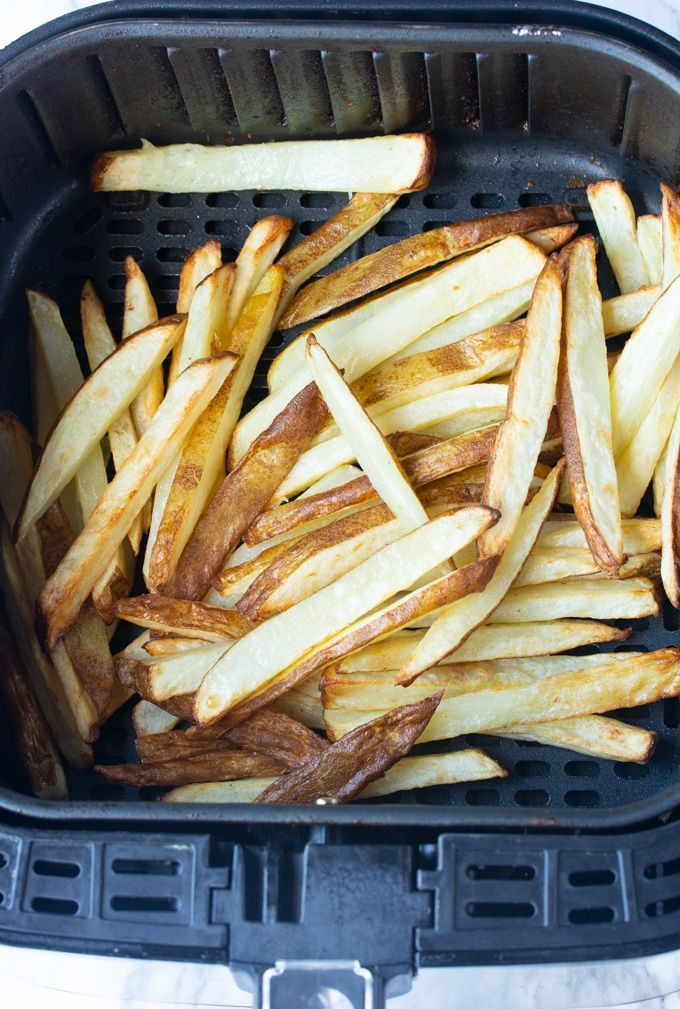 Here's how I make Crispy Air Fryer French Fries from Fresh