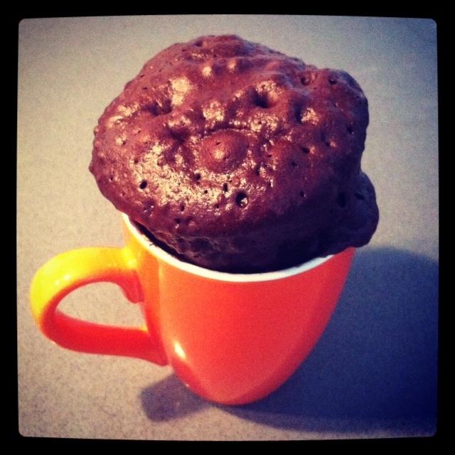 Receta de cupcake en microondas :)