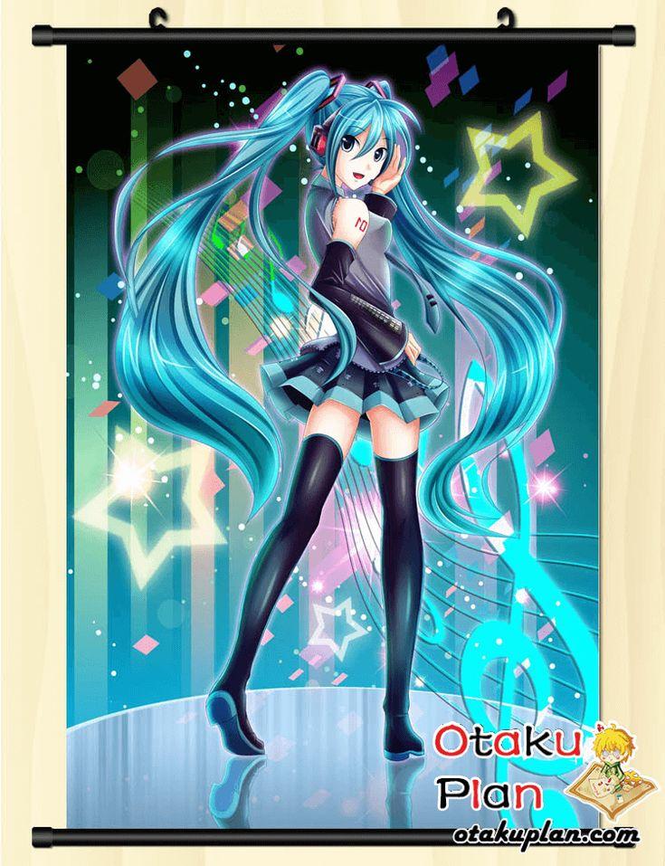 Hatsune miku avenue of stars wall scroll poster comic