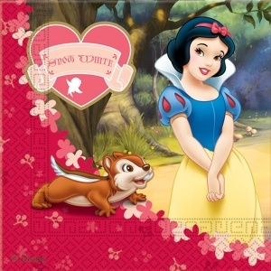 Snow White party supplies from Easykid