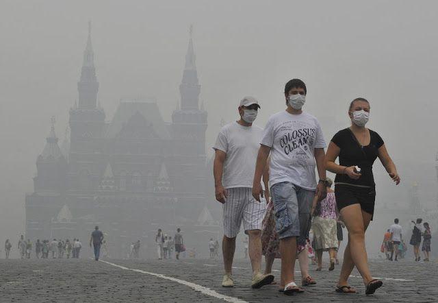 Новости: Аномально жаркое лето 2010 года в России. Как это ...