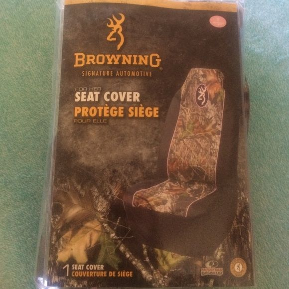 Brand new in package Mossy Oak Browning seat cover Universal for any vehicle Browning Other