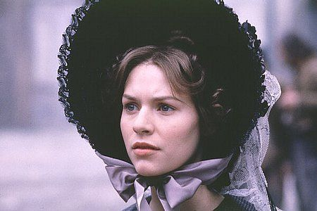 Les Miserables (1998). Don't even bother with the new one, as far as I'm concerned, NOTHING TOUCHES THIS. 'I didn't breathe when you spoke. I was afraid I'd miss a word'. -Claire Danes as Cosette