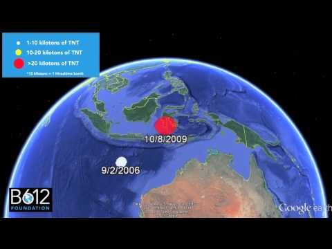 ▶ B612 Impact Video. Between 2000 and 2013, a network of sensors that monitors Earth around the clock listening for the infrasound signature of nuclear detonations detected 26 explosions on Earth ranging in energy from 1-600 kilotons -- all caused not by nuclear explosions, but rather by asteroid impacts. Let's do something to protect ourselves!