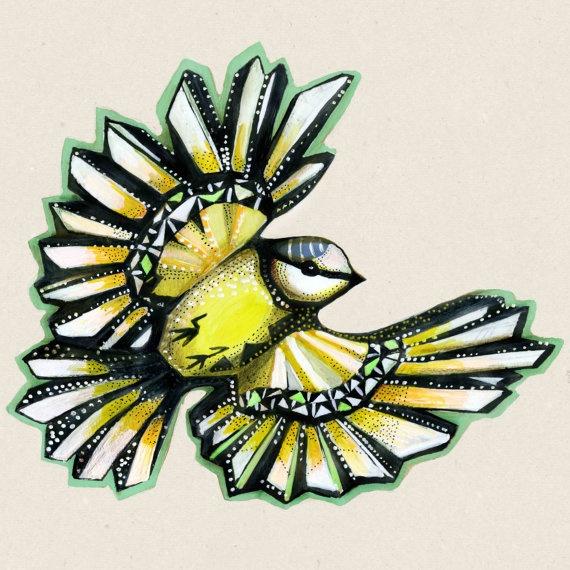 Sofie Børsting, illustration, kommer i vores nye designbutik, flotte farver, Tinga Tango shop and webshop