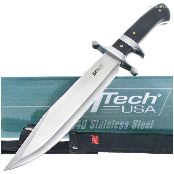 MTech MT-20-04 Sub-Hilt Combat Bowie Knife Pakkawood Handle | MooseCreekGear.com | Outdoor Gear — Worldwide Delivery! | Pocket Knives - Fixed Blade Knives - Folding Knives - Survival Gear - Tactical Gear