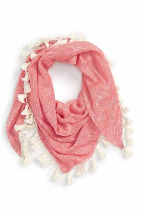 Capelli of New York Tassel Scarf (Girls)