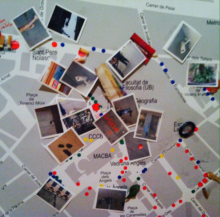 Fotografías físicas ubicadas por GPS - Expo Big Bang Data Centre de Cultura Contemporània de Barcelona (CCCB) en Barcelona, Cataluña.