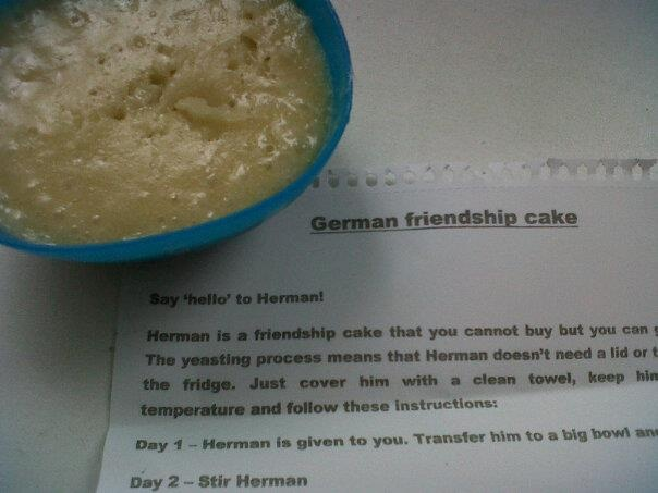 Herman The German Friendship Cake Bread Recipe