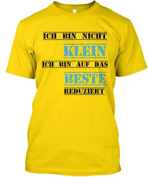 Ich Bin Nicht       Klein Ich Bin Auf Das Beste Reduziert Daisy T-Shirt Front