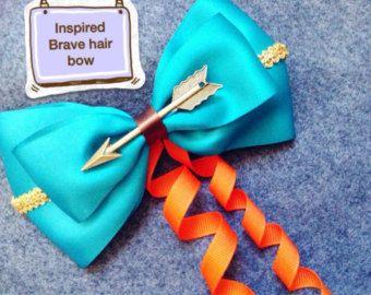 Se trata de un hecho a mano princesa Merida inspirado el arco del pelo de la película que Brave.it se hace fuera de la cinta. Las medidas de