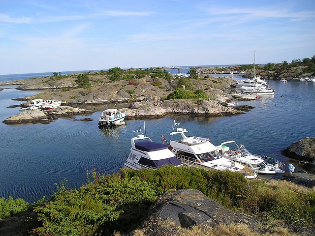 Summer in Grimstad, Norway