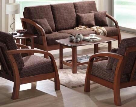 7 best wooden sala set images on pinterest sala set for Sala set for small living room