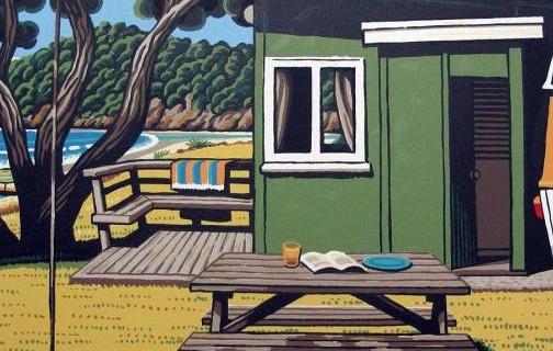 Midday Matapouri by Tony Ogle