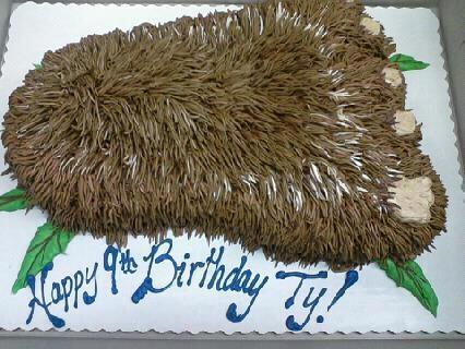 Bigfoot Bday Cakes