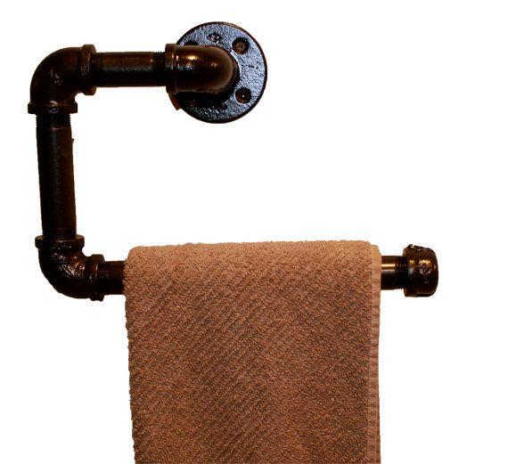 Vintage Ring Hand Towel Holder Oil Rubbed Bronze