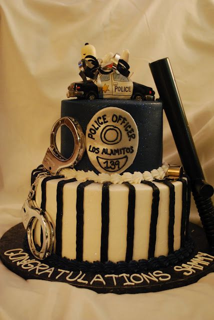 73 Best Policeman Cakes Images On Pinterest