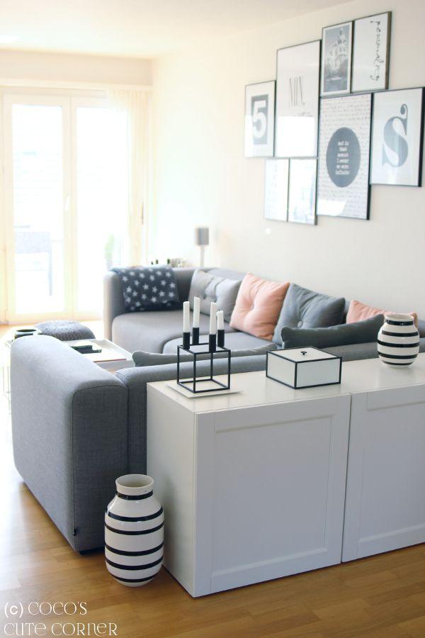 Coco's Cute Corner: Wohnzimmer (final) Update - eine Hommage an unser neues Sofa