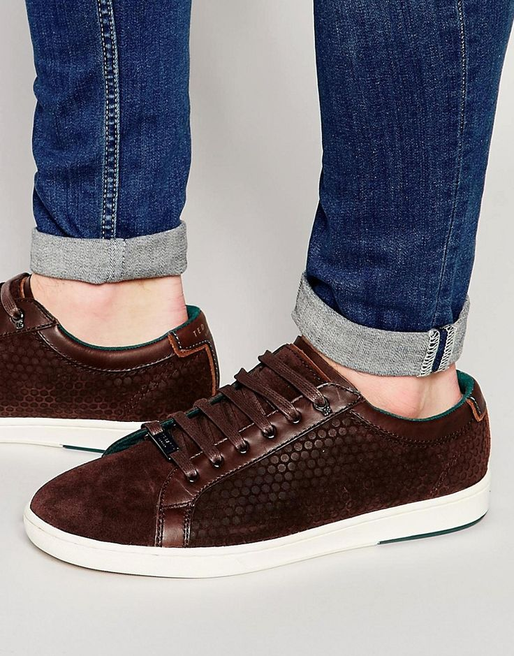 Image 1 ofTed Baker Slowne Suede Trainers