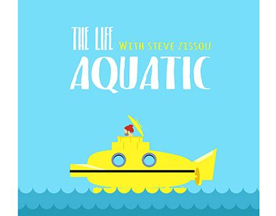 "Check out new work on my @Behance portfolio: ""The life aquatic tribute"" http://be.net/gallery/53715907/The-life-aquatic-tribute"
