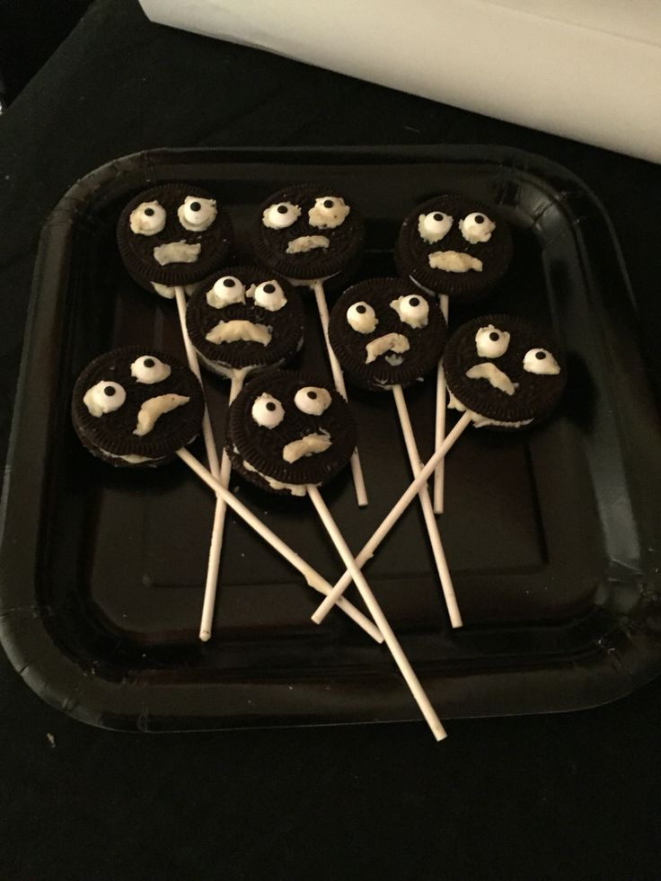 Halloween Oreo Monsters