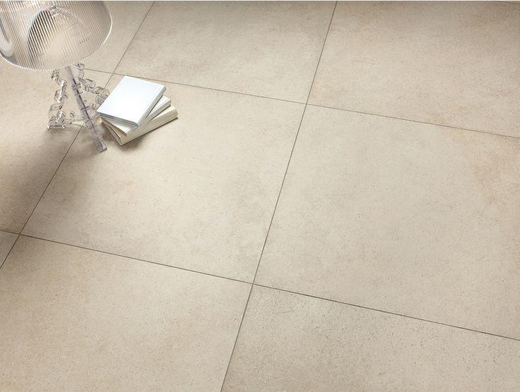 Bathroom_Herberia Underground beige floor 60x60 lapped ...