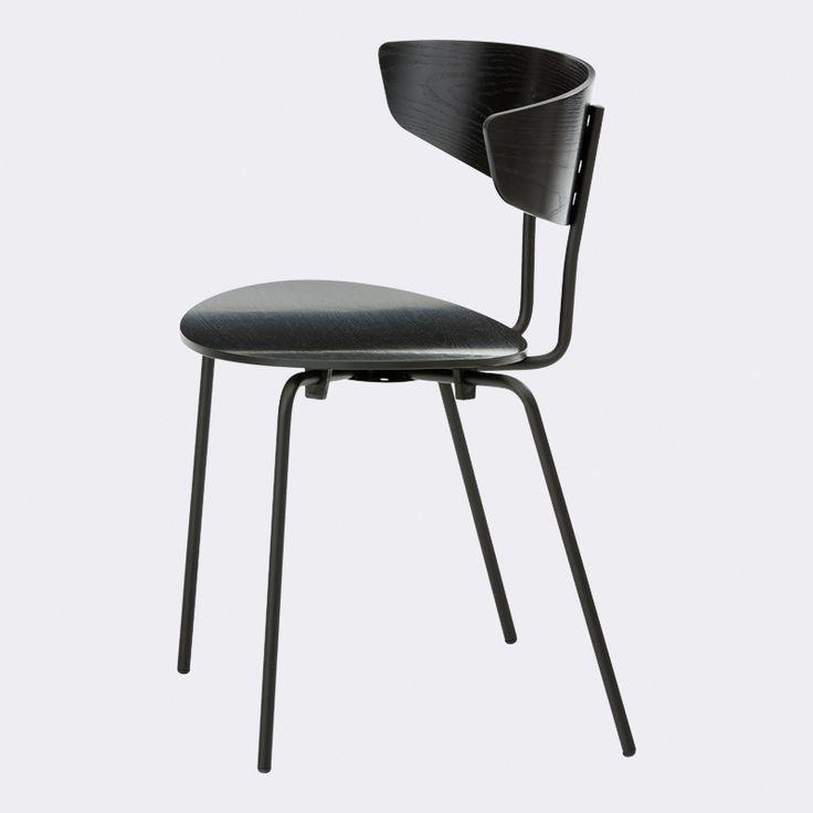 Herman sort stol i egetræ - Stole i dansk design - ferm LIVING