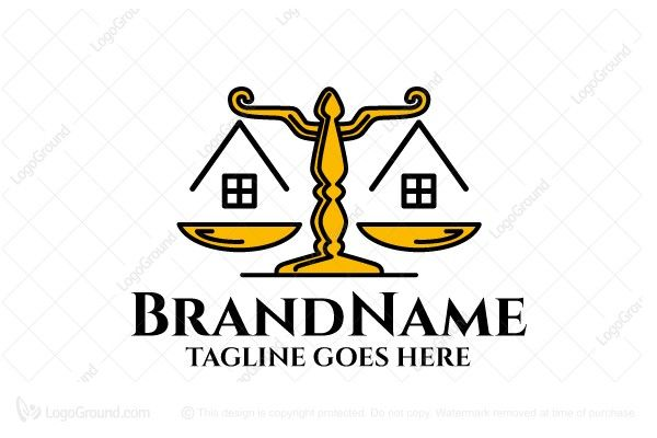 Logo for sale: Real Estate Law Logo