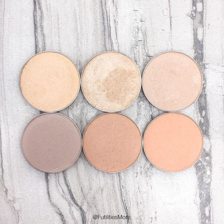 Makeup Geek Beige and cream eyeshadows pictures and swatches