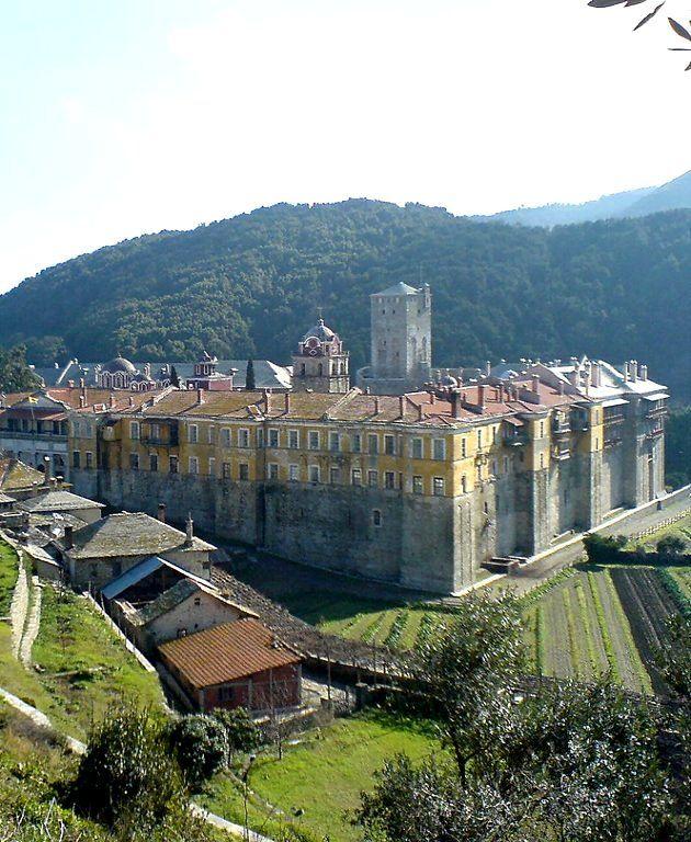 Iviron Monastery, Mount Athos, Greece | by cvitas