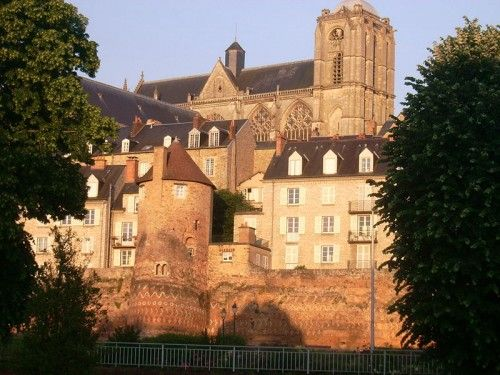 St. Julian Cathedral and Roman Walls, Le Mans, France. I love everything in Le Mans. Such wonderful memories of my grandparents there
