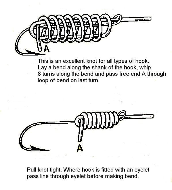Best 20 fishing hook knots ideas on pinterest for Best fishing hook knot