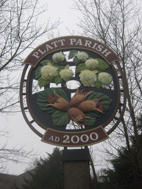 Platt Parish Village Sign, Kent