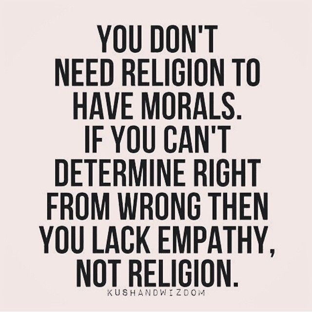 Morality and religion