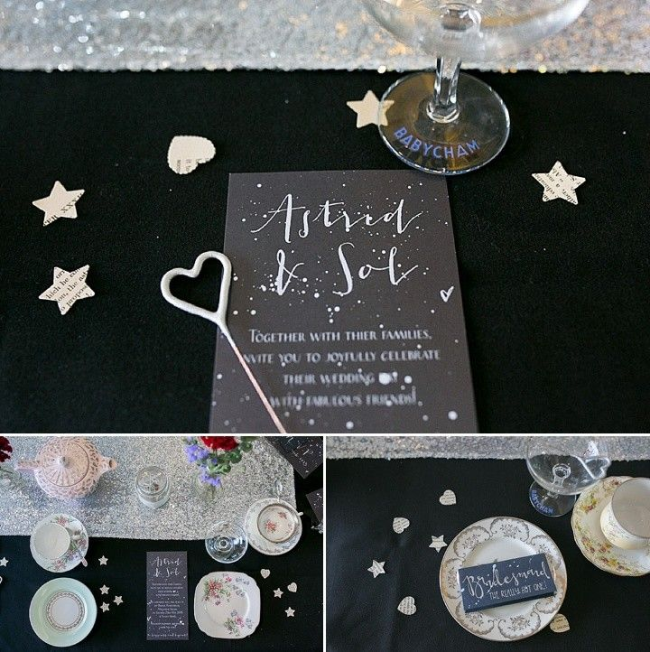Science and Astronomy Wedding Inspiration from Florence Fox Photography