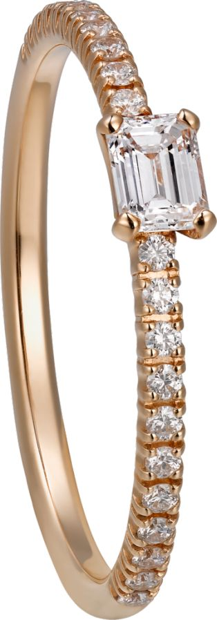 Etincelle de Cartier Ring Rotgold, Diamanten