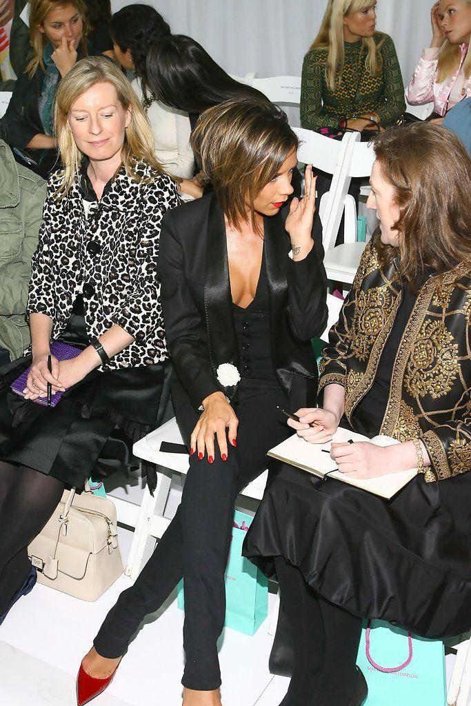 Victoria Beckham - Matthew Williamson Spring 2007 - Front Row