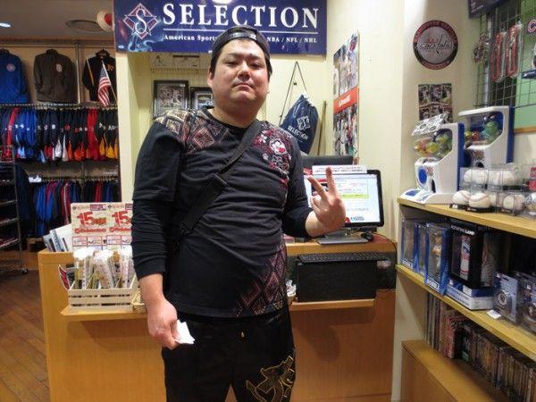 【大阪店】2015.03.18 MLBがお好きなお客様(・ω<)とても興奮が伝わってきました(^^♪また、必ず遊びに来て下さい~っ!