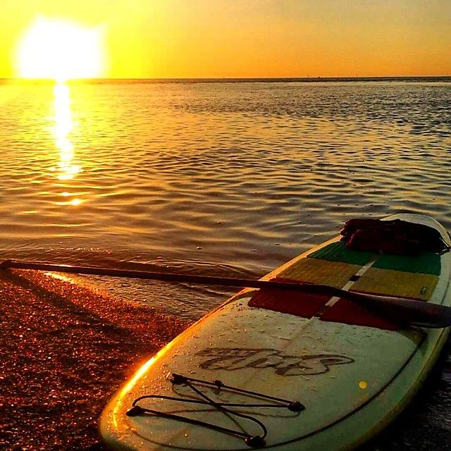 The best way to end the day!  www.SUPATX.com #supatx #sup #paddleboard
