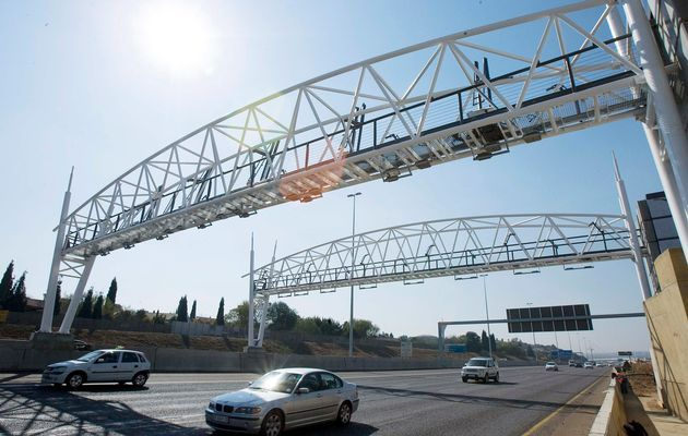 The notorious Johannesburg toll roads
