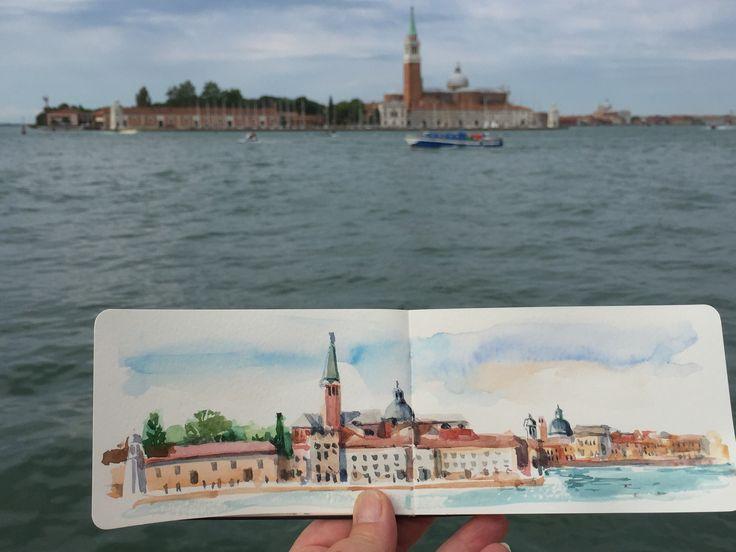 Sketching in Venice