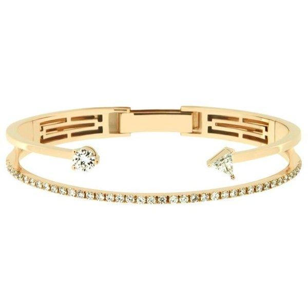 delfina delettrez Marry Me Bracelet (25 429 615 LBP) ❤ liked on Polyvore featuring jewelry, bracelets, honey bee jewelry, bumble bee jewelry, delfina delettrez jewelry, delfina delettrez and lip jewellery