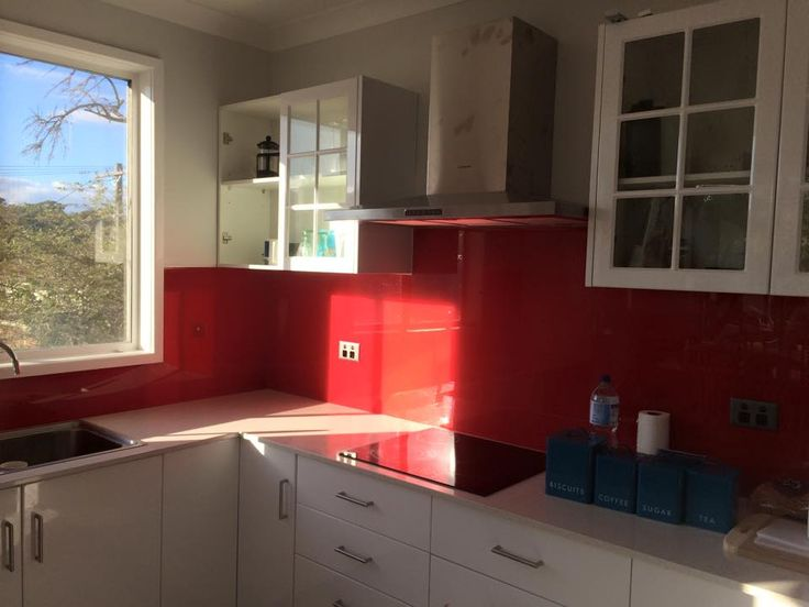 Custom Colourback Splashbacks By Innovative Splashbacks® In This Central  Coast Clients
